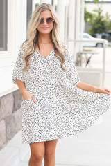White - shop dresses at dress up