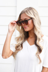 Black/Tortoise - cute summer sunglasses