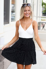 Tiered Polka Dot Skirt from Dress Up