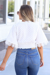 Faith Crochet Crop Top