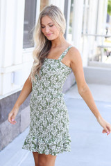 Baileigh Floral Smocked Dress