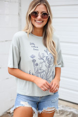 Mint - Little Nature Lover Graphic Tee