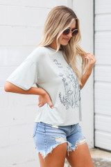 Little Nature Lover Graphic Tee Side View