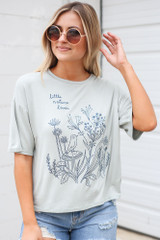 Close Up of the Little Nature Lover Graphic Tee