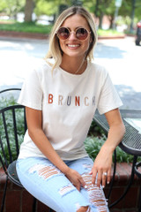 Ivory - Brunch Graphic Tee