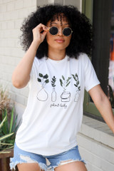 Plant Lady Graphic Tee Front View