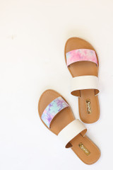 Pink - Tie-Dye Sandals from Dress Up