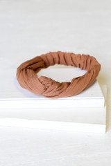 Camel - Close Up of the Knotted Headband
