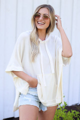 Ivory - Oversized Hoodie from Dress Up