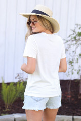 Vacay Graphic Tee Back View