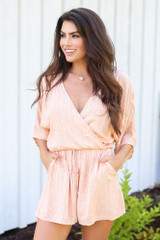 cute romper with pockets at dress up