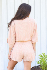 back view cute spotted romper at shopdressup