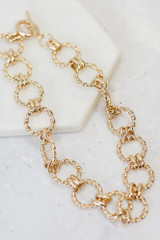 Gold - Chain Link Choker from Dress Up