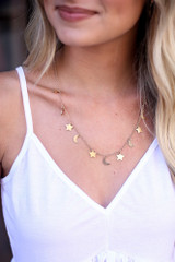 Gold - Celestial Necklace