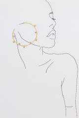 Flat Lay of the Ball Textured Hoops