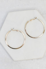 Gold - Small Hoop Earrings from Dress Up
