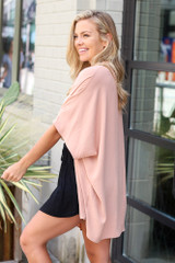 Lightweight Kimono in Nude Side View