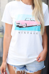 Ivory - Vintage Graphic Tee from Dress Up