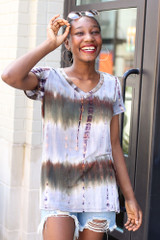 Olive - Tie-Dye Tee from Dress Up