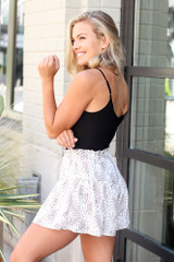 Floral Shorts Side View