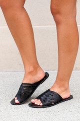 Braided Sandals Side View