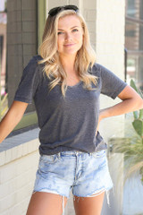 Charcoal - Ultra Soft Tee from Dress Up