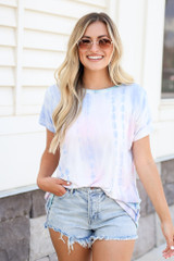 Blush - Oversized Tie-Dye Tee from Dress Up