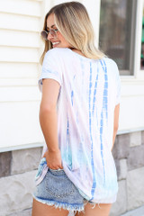 Oversized Tie-Dye Tee Back View