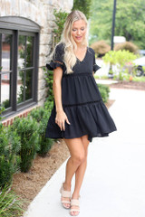Black - cute babydoll dresses at dress boutiques online