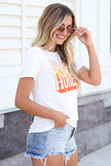 Honey Graphic Tee Side View