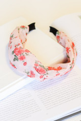 Blush - cute and trendy floral headband from dress up
