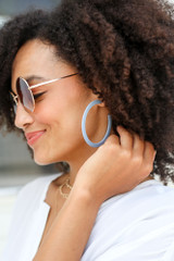 Blue - pretty blue earrings