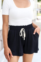 Black - Basic Shorts from dress up