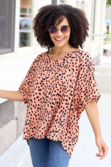 Spotted Oversized Blouse from Dress Up