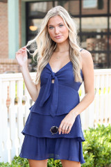 Navy - shop cute dresses at online dress boutiques