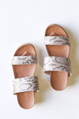 Snake - Flat Lay of the Platform Espadrilles