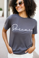 Charcoal - Dreamer Graphic Tee