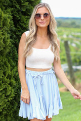 Smocked Cropped Tank from Dress Up
