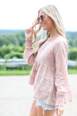 Tiered Floral Blouse from Dress Up