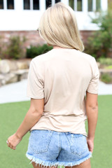 Dog Graphic Tee Back View