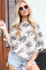 Snake - Dolman Sleeve Top from Dress Up