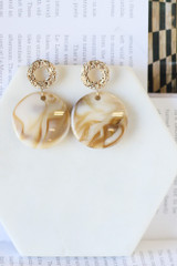 Acrylic Statement Earrings from Dress Up
