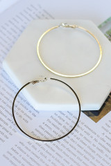 Gold - Hoop Earrings from Dress Up