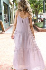 Tiered Maxi Dress Back View