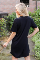 T-Shirt Dress Back View