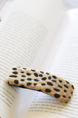 Tan - Spotted Hair Clip from Dress Up