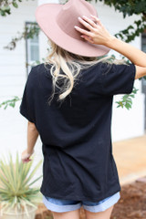 Oversized Graphic Tee Back View