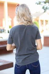 Rock & Roll Graphic Tee Back View