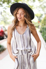 Ivory - Striped Tank from Dress Up