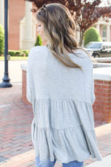 Tiered Babydoll Top Back View